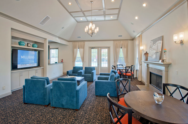 River Bend Clubhouse Lounge