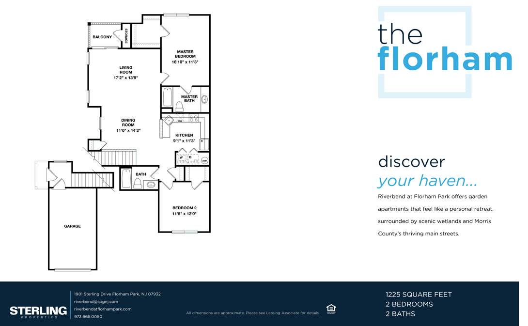 The Florham FloorPlan